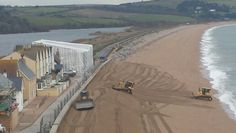 Moving the beach back to the Start Bay. Torcross.