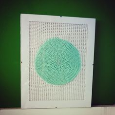 Crochet image #circle #handmade #crochet #tunisiancrochet