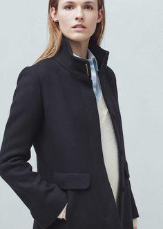 82347d0250 Wool coat - Woman. Mango CollectionMango ...