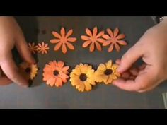 ▶ paper flower tutorial- Gerber Daisy - YouTube