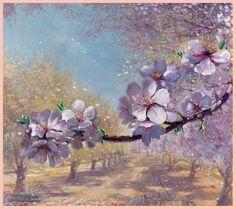 """Biblican Garden"", painting by  Alex Levin. www.ArtLevin.com"