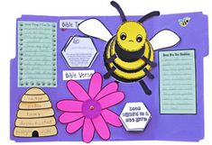 Bee Bug Buddies Study Homeschool lesson