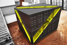 Whitney Studio (Shipping Container Installation) / LOT-EK Architecture & Design