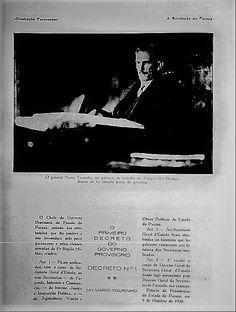 Mario Tourinho e os primeiros decretos da Revolução de 30. Revista Ilustração Paranaense.
