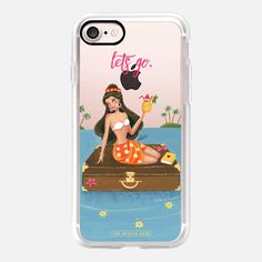Lost at Sea, Travel, Wanderlust, Summer (Transparent) - Classic Grip Case