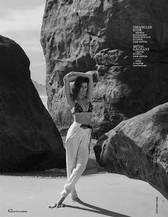 Madame Figaro August 2017 Isabeli Fontana by David Roemer - Fashion Editorials