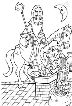 All children love Dutch Sinterklaas, also known as Saint Nicholas. He is recognized for its striking red coat with red cap and long white beard. This saint arrives each year in mid-November in a bo… Child Love, Magnolia, Coloring Pages, Princess Zelda, Pop, Fictional Characters, Hart, Phoenix, Dutch