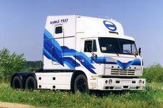 KAMAZ 54112М.  #truck #tucks #retro #retrotruck #kamaz