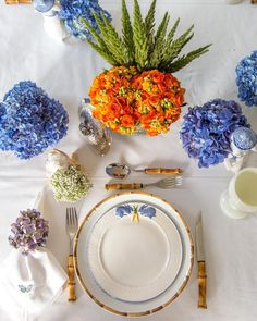 Lunch table for spring!! #inspiration