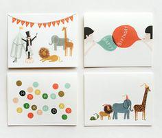 De jolies cartes d'anniversaire