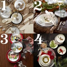 Holiday table decorating tips: 4 tips to using everyday dinnerware this season