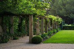 Le Mas de Baraquet.  Provence, France.  Garden design by Dominque Lafourcade
