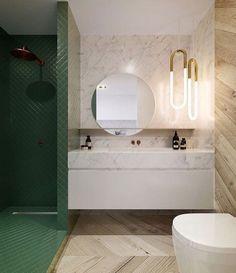 // w o a h // #bathroom #envy via @lucdesign