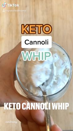 Keto Cannoli Whip | Angela Grassfed Mama | Published on July 27, 2020 Low Carb Desserts, Healthy Desserts, Low Carb Recipes, Healthy Recipes, Ketogenic Recipes, Ketogenic Diet, Low Carb Sweets, Sugar Detox, Sugar Free Recipes