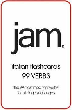 JAM Italian Flashcards: 99 Verbs (Italian Edition) by Sabrina Gabriele. $3.99