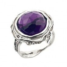 Silver Ring with Amethyst