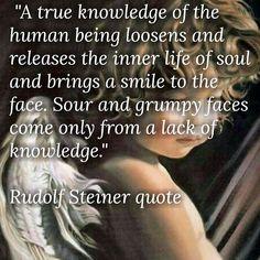 Rudolf Steiner quote...