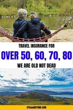 Best travel insurance for seniors we're old not dead Packing Tips For Travel, Travel Advice, Travel Guides, Travel Hacks, Travelling Tips, Travel Info, Budget Travel, Medical Travel Insurance, Places To Travel