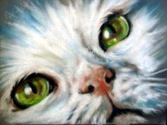"""Little One"" par Paul Knight Diviant Art, Knight Art, Crazy Cats, Big Cats, Printable Art, Printables, Fractal Art, Medium Art, Cat Art"