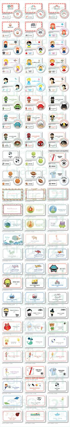 Stickers Personalizados Vinilo X 50 De 5 Cm. Troquelados - $ 150,00 en Mercado Libre