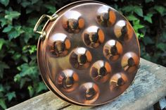 French Copper Mould Set of 6 Copper Molds par LaBourgognedeNath