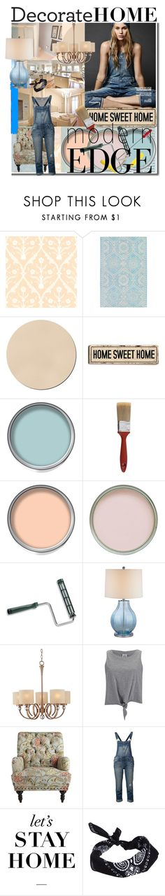 """Home Decor"" by espritducoeur ❤ liked on Polyvore featuring interior, interiors, interior design, home, home decor, interior decorating, Stop Staring!, Cole & Son, WALL and Laura Ashley"