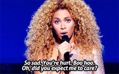 """Beyoncé — """"I try to write & sing songs that we as women need...  ( 2 )"""