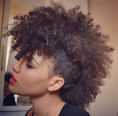 50 Mohawk Hairstyles For Black Women Formal Events Hair Styles