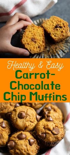 These easy & moist Carrot Muffins are made with whole wheat flour, carrots and maple syrup. These delicious kid-friendly muffins are great for a quick breakfast or snack! | Carrot Cake Muffins | Healthy Muffins | Easy Carrot Reciptes | Carrot recipe healthy | whole wheat muffins | Kid Snacks | #healthybaking | pipingpotcurry.com Best Muffin Recipe, Simple Muffin Recipe, Muffin Recipes, Delicious Breakfast Recipes, Delicious Desserts, Dessert Recipes, Dairy Free Recipes, Vegetarian Recipes, Fudge