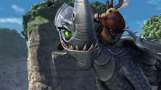 Windshear. Can I just say that she's my second most favorite dragon on HTTYD?! XD