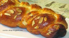 Lovely dessert for Ester meal by SimplyVeggies: Tsoureki (Greek Easter Bread) #BreadBakers