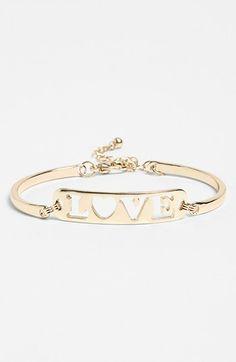 BP. 'Love' Bracelet | Nordstrom