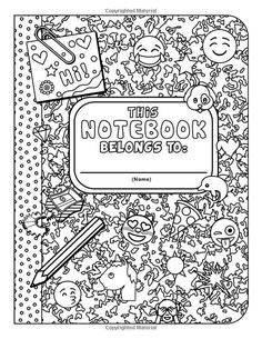 The Amazing Emoji School Coloring Book: 24 page Coloring Book Emoji Coloring Pages, Quote Coloring Pages, Unicorn Coloring Pages, Free Adult Coloring Pages, Coloring Pages For Girls, Disney Coloring Pages, Coloring For Kids, Printable Coloring Pages, Colouring Pages