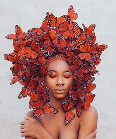"Girl Talk: DIY Skin and Bodycare (Part a. ""The Orange Article"" . (DIY Foundation Makeup, Foot, Scrubs, Sunscreens, and more! Black Women Art, Black Girls, Black Art, Black Girl Aesthetic, Photoshop, Fine Art, Portrait Inspiration, Hair Art, Black Is Beautiful"