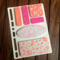 Sticky notes on a dash. Pretty sticky notes/ memos for filofax, erin condren planners, kikkik, school supplies