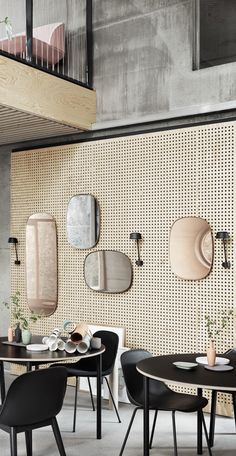Via NordicDays.nl | Salone del Mobile 2016: New Muuto Items beautiful mirrors