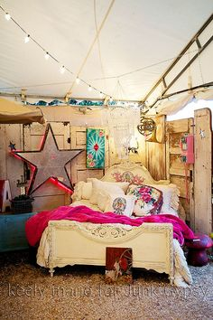 Junk gypsy.. I'm liking this idea for Ash's room..once its finally finished