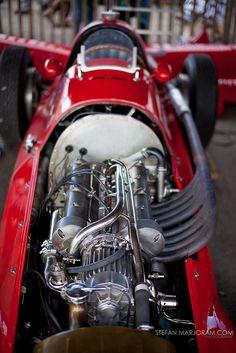 Vintage Maserati racer - Stefan Marjoram