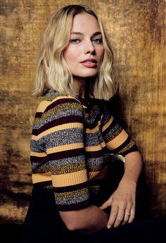 Margot Robbie photographed by Justin Bishop.