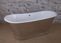 Primary Image - Steel Skirt Plinth Mirror Polish Bath