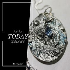 Today Only! 30% OFF this item.  Follow us on Pinterest to be the first to see our exciting Daily Deals. Today's Product: Bohemian Style Solder Stamped Spoon Pendant #4 Buy now: https://small.bz/AAh7F47 #etsy #etsyseller #etsyshop #etsylove #etsyfinds #etsygifts #musthave #loveit #instacool #shop #shopping #onlineshopping #instashop #instagood #instafollow #photooftheday #picoftheday #love #OTstores #smallbiz #sale #dailydeal #dealoftheday #todayonly #instadaily #instadaily #todayonly…