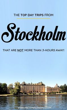 Are you planning to visit Stockholm soon? Do you know that there are a lot of day trips from Stockholm you can do? In this post you'll learn about the top Stockholm day trips, things to do in [destination], how to spend your time in Stockholm, learn about Stockholm secrets and its surrounding areas. Save this Stockholm travel guide to your travel board so you'll find it easy later! #Stockholm # Stockholm #europe #Daytrips #Travel