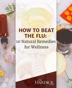 """10 Natural Flu Remedies that Work 