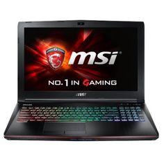 "MSI Aluminum Black 15.6"" Apache Pro-014 GE62 Laptop PC with Intel Core i7-6700HQ Processor, 16GB Memory, 1TB Hard Drive and Windows 10"