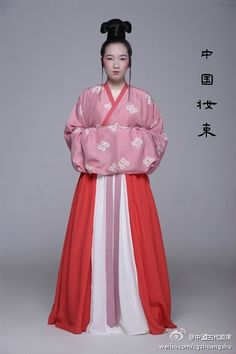 Western Jin Dynasty (西晉, 265–316) robes.