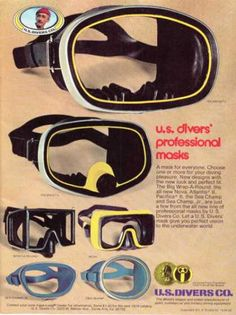 Us Divers Mask (1976)