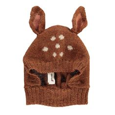 Bambi Alpaca Wool Baby Balaclava Oeuf NYC Baby Children- A large selection of Fashion on Smallable, the Family Concept Store - More than 600 brands.