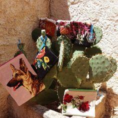 Les nouvelles pochettes en vente sur www.kitsch-bazar.com