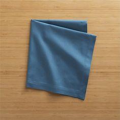 Blue napkins