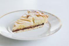 Mandeltarte mit Birnen und Schokolade [Tarte frangipane aux poires] // Almond Tart with Chocolate and Pears // Berliner Küche